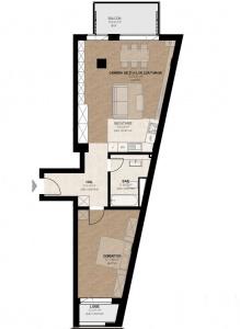 VA2 104440 - Apartment 2  rooms for sale in Dambul Rotund, Cluj Napoca