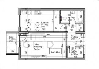 VA1 107359 - Apartment one rooms for sale in Dambul Rotund, Cluj Napoca