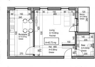 VA1 107366 - Apartment one rooms for sale in Dambul Rotund, Cluj Napoca