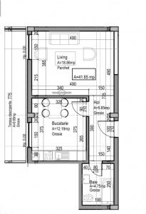 VA1 107413 - Apartment one rooms for sale in Dambul Rotund, Cluj Napoca