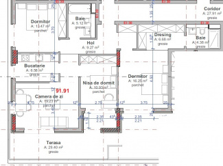 VA4 110724 - Apartament 4  camere de vanzare in Intre Lacuri, Cluj Napoca